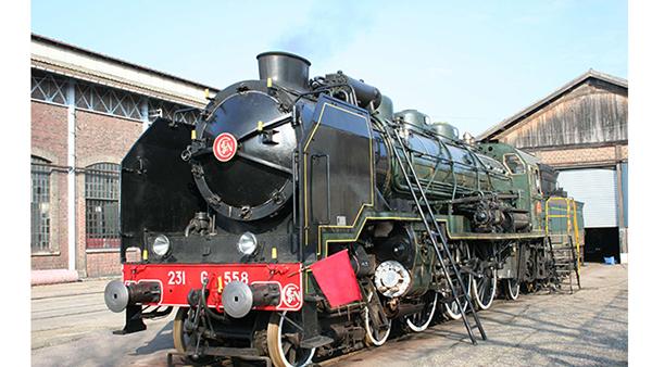 Locomotive Pacific 231 G 558