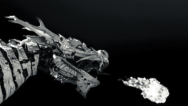 Dragon de la Compagnie La Machine, Nantes